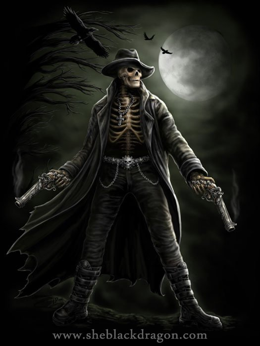 Skeletal Gunslinger